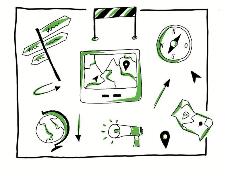 Vom Elternsein und Navigationssystemen – die perfekten Begleiter?